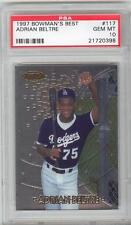 Adrian Beltre Rangers 1997 Bowman's Best #117 Rookie Card rC PSA 10 Gem Mint QTY