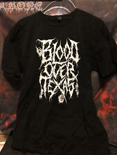 Blood Over Texas Shirt Size Large