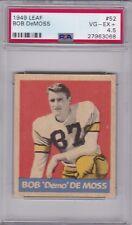 1949 Leaf Football #52 BOB DEMO DE MOSS PSA 4.5 VG/EX+ CENTERED! NY BULLDOGS