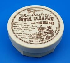 The Masters Brush Cleaner and Preserver 75ml (3oz) For Acrylic and Oil Paints