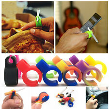 2PCS Silicone Ring Finger Hand Rack Cigarette Holder Ring Smoking For Smoker