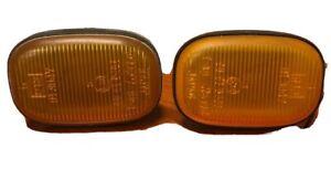 OEM Toyota 93-98 Supra Side Markers Sidemarker Lights Amber MKIV Genuine JDM