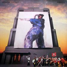 SPANDAU BALLET PARADE LP Chrysalis G/F Sleeve Inner Lyric Sleeve 1984