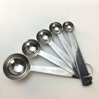Stainless Steel measuring spoons  Spoons 5 spoons