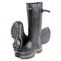 Dirt Boot® Neoprene Rubber Wellington Muck Boot Pro-Sport™ Hunt Zip Black