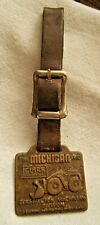 VINTAGE MICHIGAN CLARK CONSTRUCTION MACHINERY DIVISION WATCH FOB
