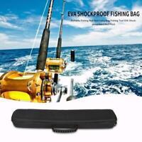 Fishing Rod Pole Reel Hard Shell Pack Case Organizer Fishing Tackle Storage Bags