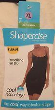 (2) SHAPERCISE XL 12-14 Cafe Tan (Only) Cool 87% Nylon 13% Elastine Full Slip