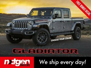(2x) Jeep GLADIATOR Hood Vinyl Decals Graphics Stickers Rubicon JL JT 2018 2021