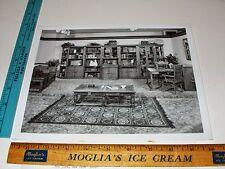 Rare Historical Original VTG Keepsakes Living Center Pulaski Furniture VA Photo