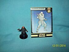 WotC Star Wars Miniatures Klatooinian Enforcer, Clone Strike 54/60, Fringe, Com