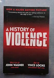 John Wagner Vince Locke A HISTORY OF VIOLENCE Graphic Novel pb