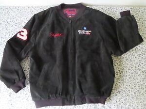 Vtg 1999 Dale Earnhardt Sr Jeff Hamilton Pro Sport Suede Jacket- 3XL