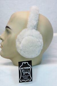 REAL 100% SHEEPSKIN SHEARLING Fur Ear Muffs Warmers Earmuffs Headband Winter NWT