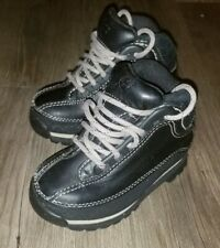 Timberland Hiking Toddler Baby Boots Size 6M black