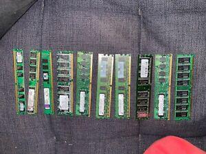 10pk of ram DDR3-DDR4 2gb-4gb 10800u dimm Memory Ram for desktop Computer