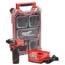 Milwaukee 2453-21P M12 FUEL 1/4 in. Hex Impact Driver Kit W/ Packout
