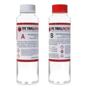 TFC EP02 Epoxy Epoxid Giessharz Epoxidharz Dickschicht bis 100mm glasklar 750g