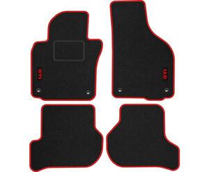 S3IG TAPPETI TAPPETINI moquette velluto GTI per VW GOLF 5 6 V / VI 2003-2012 ova