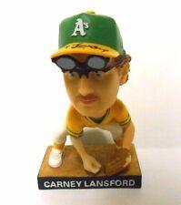 RARE Carney Lansford Signed Autograph Oakland A's Athletics Baseball Bobblehead