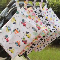 30*40cm cartoon single pocket diaper bag waterproof wet bag for baby diaperG3D