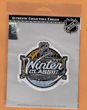 2011 WINTER CLASSIC PITTSBURGH PENGUINS WASHINGTON CAPITALS JERSEY PATCH PACKAGE