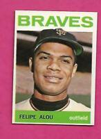 1964 TOPPS # 65 BRAVES FELIPE ALOU  NRMT-MT CARD (INV# C2148)