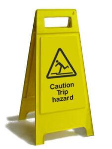 Caution Trip Hazard Free Standing Sign (FS3-05)