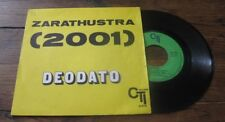 DEODATO - Zarathustra (2001) French PS 7' Killer Jazz Funk Strauss 1973 CTI
