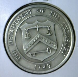 1789 AMERICAN REVOLUTION WAR Treasury Dept GEM BU Coin from Commemorative set.NR