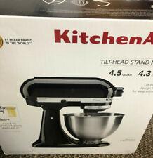 KitchenAid 4.5QT Tilt-Head Stand Mixer K45SSOB Onyx Black BRAND NEW