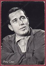 PERRY COMO 02a SINGER ATTORE ACTOR CINEMA MOVIE TV Cartolina FOTOG - DEFECTS !!!