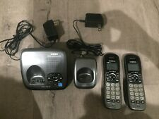 Uniden DECT1480 Cordless Phone System 2 Handsets & 2 Bases