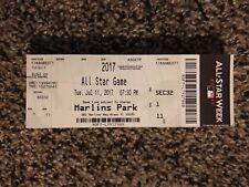 2017 MLB ALL STAR GAME TICKET STUB BOX OFFICE 7/11 AARON JUDGE CODY BELLINGER