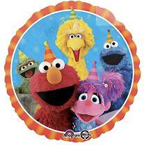 "Sesame Street Elmo Cookie Monster 18"" Anagram Balloon Birthday Party Decorations"