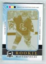 11-12 UD The Cup  Andre Benoit  1/1  Printing Plate  Rookie