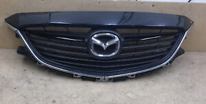 2014-2016 Mazda 6 Front Bumper Center Grille  COMPLETE  With Emblem OEM