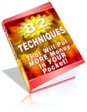82 Techniques To Put More Money In Your Pocket PDF eBook + Master Resell Rights