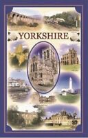 Yorkshire Montage Tea Towel 100% Cotton Stow Green Kitchen Baking 74 x 46cm