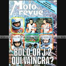 MOTO REVUE N°2379 CHRISTIAN SARRON ★ YAMAHA SR 500 ★ PROGRAMME BOL D'OR 1978 ★