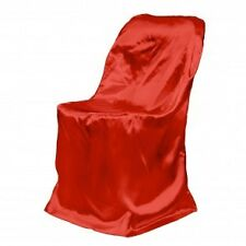 250 Red Satin Chair Covers! BRAND NEW!!!!