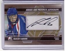MARIAN GABORIK 13/14 ITG H&P Short-Print Autograph Auto #A-MG SP Hockey Hero