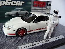 Minichamps 1:43 Porsche 911 GT3 RS White with Stig Figurine 436200