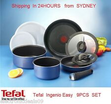 Tefal Ingenio 9 Pce Cookware Set - Brand New MADE IN FRANCE  FREE DELIVERY