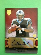 Cam Newton 2011 Topps Supreme RC Auto #12/50 Panthers FREE SHIP