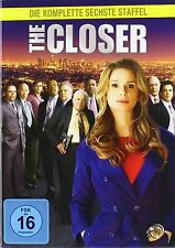 The Closer Complete Series Season 6 - [4 DVD] Box Set Kyra Sedgwick UK R2 NEW