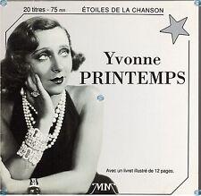 YVONNE PRINTEMPS dites lui qu'on l'a remarqué CD (393) les etoiles de la chanson