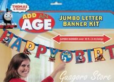 Thomas & Friends Train Tank Engine Birthday Add An Age 10 ft Banner Party Supply