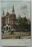 Augusta Georgia Sacred Heart Church Postcard Tuck 1906 (d928gsm)