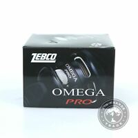 OPEN BOX Zebco Omega Pro Spincast Fishing Reel with 7 Bearings in Multi